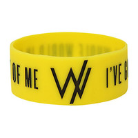 Sleeping With Sirens World In Front Rubber Bracelet