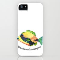 H is for Humuhumunukunukuapua'a iPhone & iPod Case by Catherine Holcombe | Society6