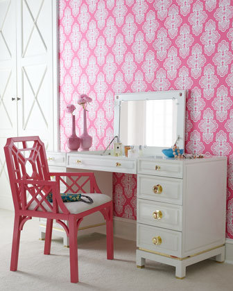 Lilly Pulitzer Home &quot;Aster&quot; Vanity - Horchow