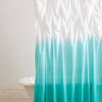 Ocean Upward Shower Curtain