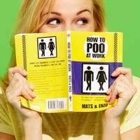 Fredflare.com - How To Poo At Work - Shop All Books Now