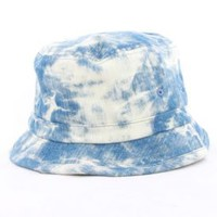 Mishka, Acid Washed Denim Bucket Hat - Mishka - MOOSE Limited