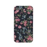 Romantic Vintage Roses Iphone 4 Case-mate Case from Zazzle.com