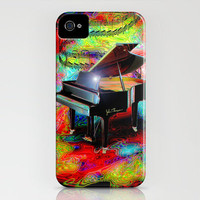 Psychedelic Baby Grand iPhone Case by JT Digital Art  | Society6
