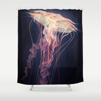 Jellyfish Shower Curtain by Janice Sung | Society6