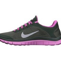 Nike Free 3.0 Women's Running Shoes - Dark Mica Green
