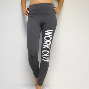 WORKOUT Pants. Workout Leggings. Fitness Pants. Gym Pants. Yoga Pants. Crossfit Pants. Gym Leggings. Yoga Leggings. Compression Pants.