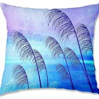 Decorative Woven Couch / Throw Pillow from DiaNoche Designs by Iris Lehnhardt Unique Bedroom, Living Room and Bathroom Ideas - Tropical