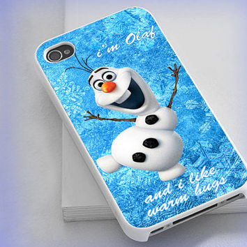 iPhone case,iPhone 4/4s 5 5s 5c,Samsung S2 S3 S4,iPod 4 5,Htc One,Htc One X,Blackberry, Olaf Warm Hug