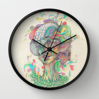 Pops of the Fresh Wall Clock by Ben Geiger
