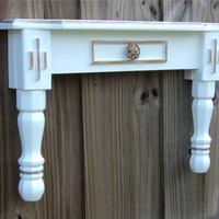Wall Art Display Table Style Shelf White With by TheSavvyShopper1