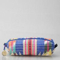 Woven Jute Pencil Makeup Bag- Assorted One