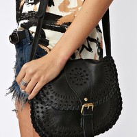 Sierra Crossbody Bag - Black  in  What's New at Nasty Gal