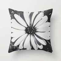 Waiting for the night  Throw Pillow by Ia Loredana