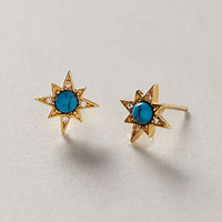 Turquoise Burst Earrings