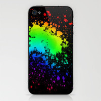 Splatter iPhone &amp; iPod Skin by CosmosDesignz | Society6