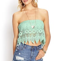 Crochet Lace Tube Top