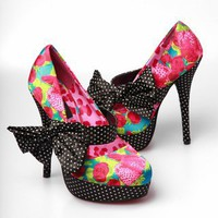 Iron Fist Indecent Obsession Platform Shoes - Pink - Punk.com