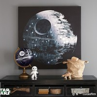<em>Star Wars</em>™ Death Star™ LED Artwork