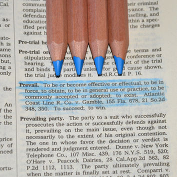 Eco Highlighters Blue Pencils 4 Pack