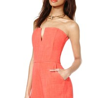Nasty Gal Dip It Low Romper