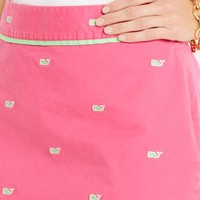 Whale Embroidered Margo Skirt