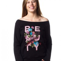 Beauty Slouchy Sweatshirt