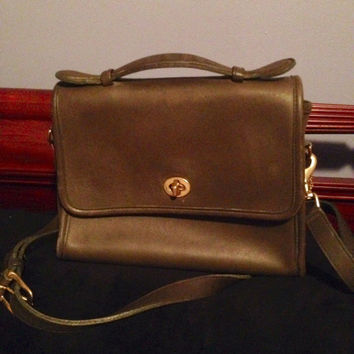 "Coach Crossbody ""Brief Case"""