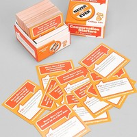 Never Have I Ever College Edition Card Game- Orange One