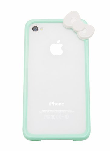 Hello Kitty Style bow front iphone case  | GoJane.com