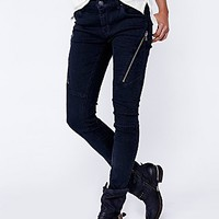 Free People Womens Spencer Zip Skinny -