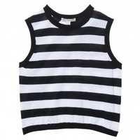 Stripe Muscle Tank