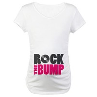Rock The Bump Maternity T-Shirt> Rock the Bump - Maternity Shirt> ...