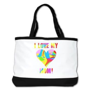 I Love My Mom! 3 Shoulder Bag> Bags, Totes, and More> Girl Tease