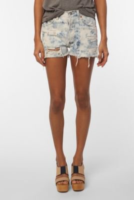 UrbanOutfitters.com > Urban Renewal Acid Wash Destroyed Denim Short