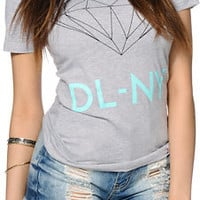 Diamond Supply Co. DL-NY Grey Tee Shirt