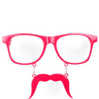 Kelly Stache Sunglasses in Pink :: tobi