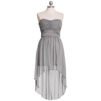 regal nights asymmetrical chiffon dress - &amp;#36;54.99 : ShopRuche.com, Vintage Inspired Clothing, Affordable Clothes, Eco friendly Fashion