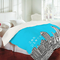 DENY Designs Home Accessories | Bird Ave San Diego Sky Duvet Cover