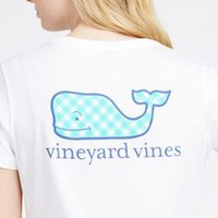 Gingham Whale Pocket Tee
