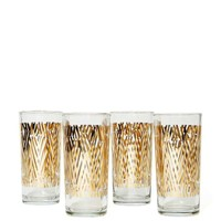 Zuzu Metallic Glass Set