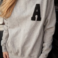 ERICA A PATCH SWEATSHIRT