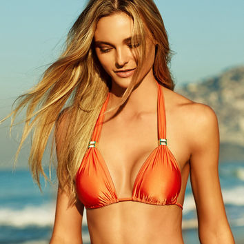 ViX Solid Orange - Bia Tube Bikini Top | Beachbliss