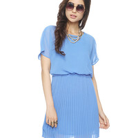 Pleated Blouson Dress | FOREVER21 - 2000042090