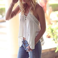 Free People Womens Run Around Top
