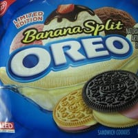 Limited Edition Banana Split Oreo 15.25 oz (2 Packages)