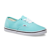 s Authentic Lo Pro (aqua splash/true white)