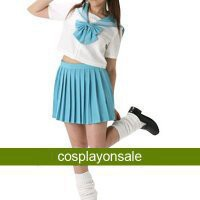 Blue Short Sleeves Sailor School Uniform Cosplay Costume [TWL110840065] - $65.24 : Cosplay, Cosplay Costumes, Lolita Dress, Sweet Lolita