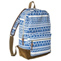 Mossimo Supply Co. Geometric Print Backpack Handbag - Blue