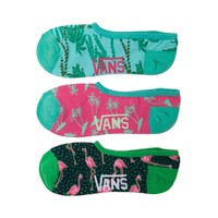 Womens Vans Miami Flamingo Liners 3 Pack
